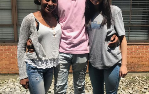Pictured left to right: Zharia Holifield, Deion Grant, and Leilani Key. Their positive attitudes are seen through their smiles, all thanks to the friendships and experiences that come from PHS.