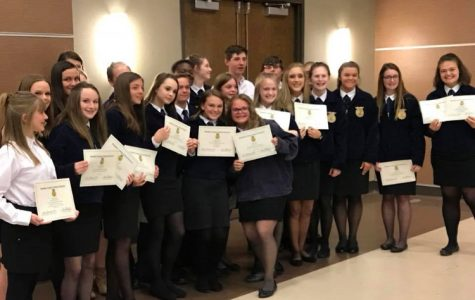 Pelahatchie FFA members recognized for placement in competition
