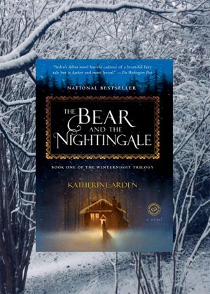 The Bear and the Nightingale by Katherine Arden was published in January 2017 and is the first book in the Winternight trilogy.