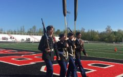 PHS JROTC Color-Guard Competes in Final Drill Meet