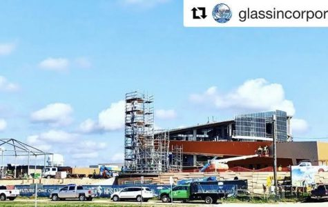 The aquarium is being built in Gulf Port, MS, and will open in 2020.